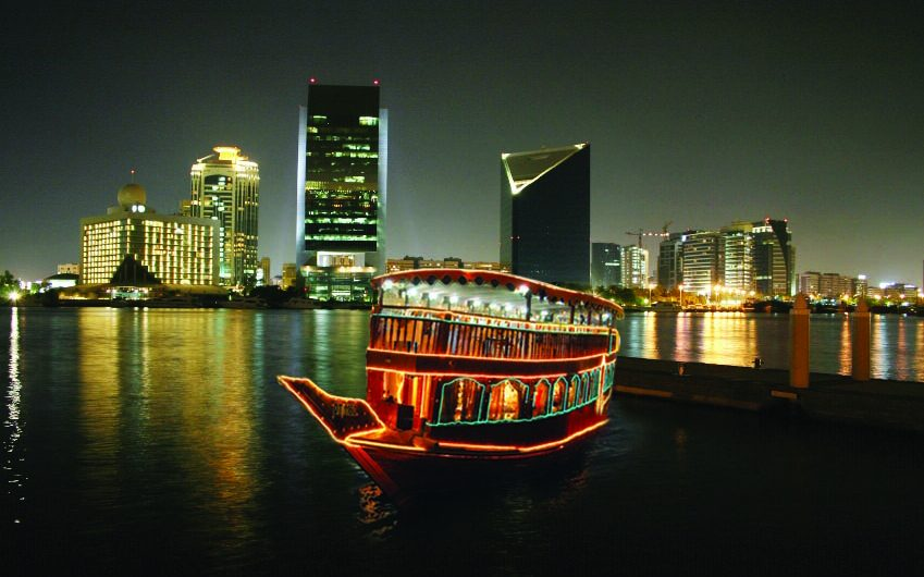 Dhow Cruise in Creek