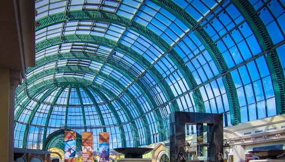 Glass dome in Mall of the emirates