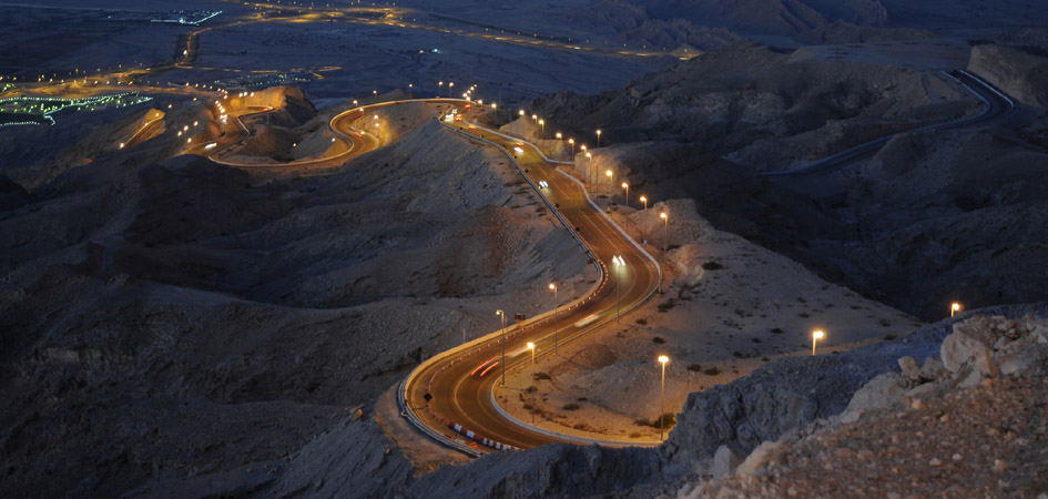 roads of jebel hafeet