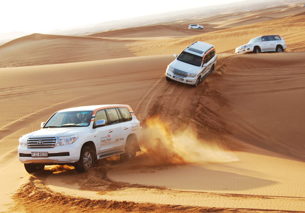 Get a mixed feeling of thrill and excitement with Oasis Palm Desert Safari