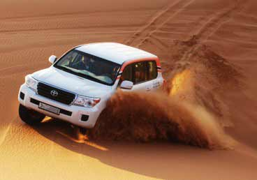 Amaze yourself with the experience of Desert Safari Dubai, the thrilling dune bashing
