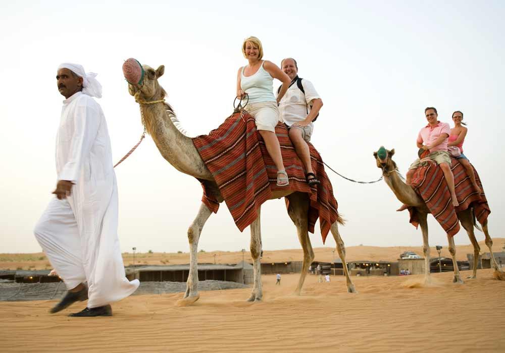 Camel Ridding - Day Out Dubai