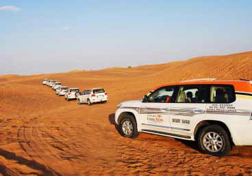 Morning Desert Safari Tour Dubai UAE