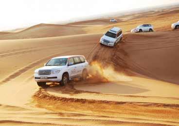 Morning Dune Bashing Trip in Desert Safari