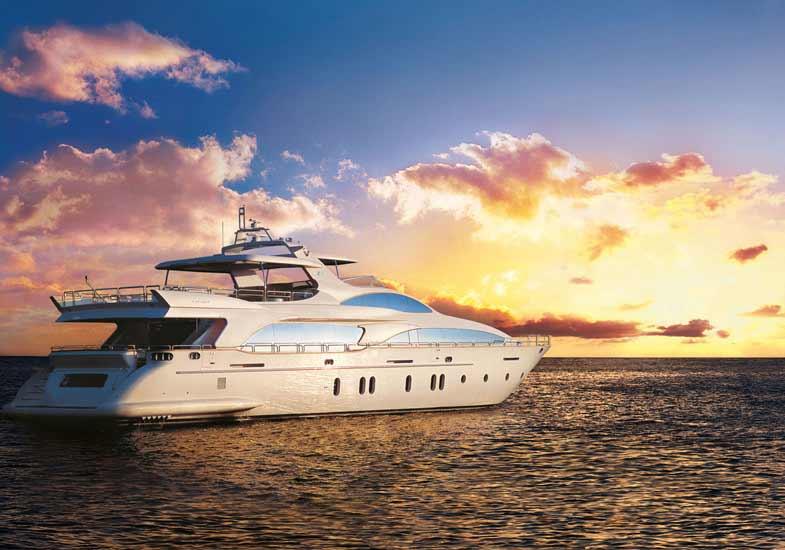 Sunset Cruise on a World-Class Yacht