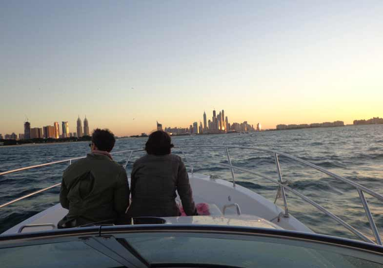 Romantic Sunset Cruising in Dubai