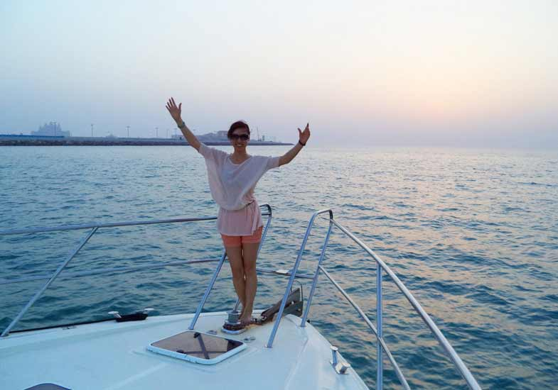 Sunset Cruise Trip in Dubai