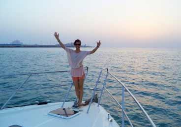 Memorable Sunset Cruise Trip in Dubai