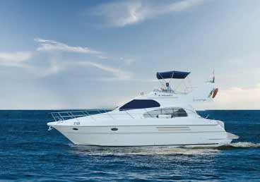 42 Feet Luxury Yacht Cruising around Dubai Marina