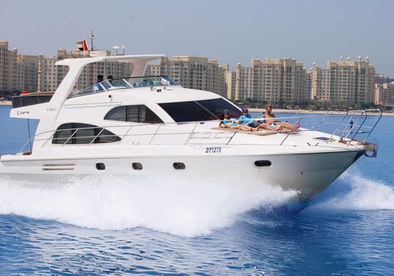 55 Feet Luxury Yacht Cruise in Dubai