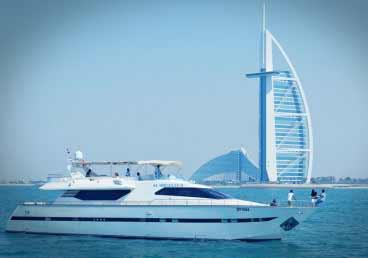 85 Feet Luxury Yacht Cruising Tour Dubai