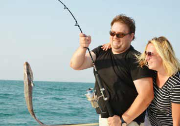 Memorable Fishing Family Vacation in Dubai
