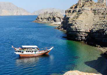 Musandam Dibba Full-Day Dhow Boat Cruise