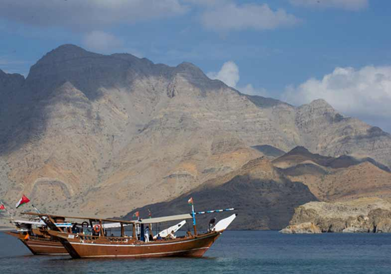 Explore ancient landscapes of Oman's Musandam Khasab