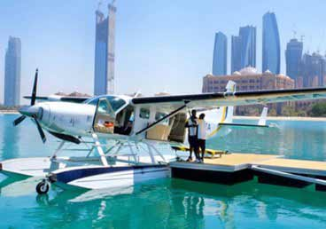 Enjoy all iconic attractions in Dubai on seaplane