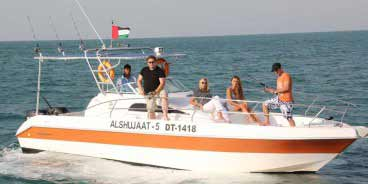 Memorable Sports Fishing Boat Trip in Dubai Marina
