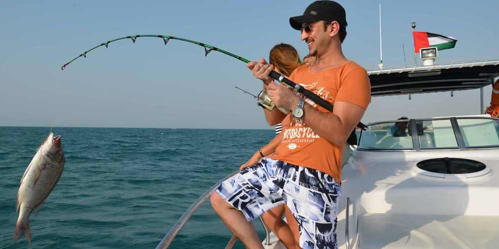 The sport fishing is the best experience one could encounter in Dubai