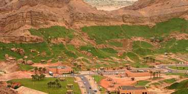 Wonderful Scenic beauty of Green Mubazzarah Park