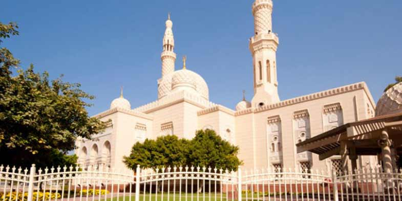 A glance at Jumeirah Mosque
