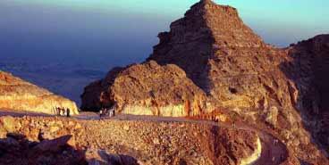 Peak View of Al Ain from Jabel Hafeet
