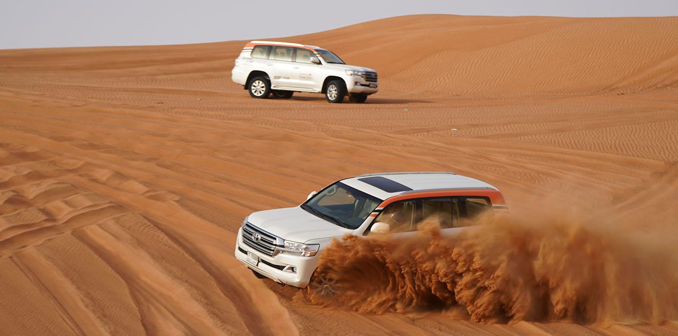 Thrilling Dune Bashing