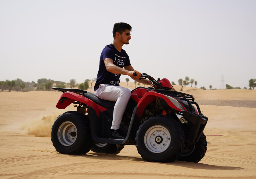 Have a memorable ride on a Quad bike