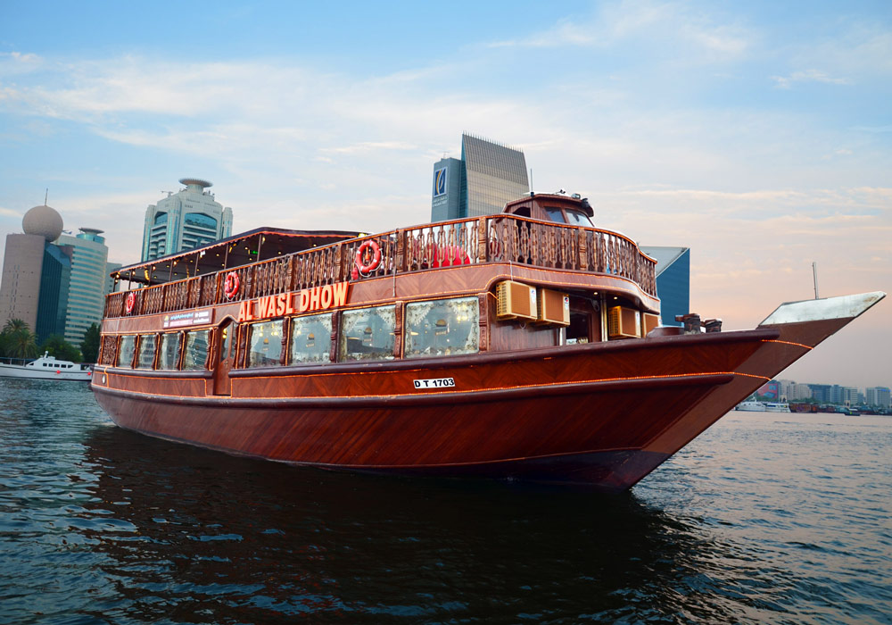 Make your family & yourself feel special with Al Wasl Dhow Cruise