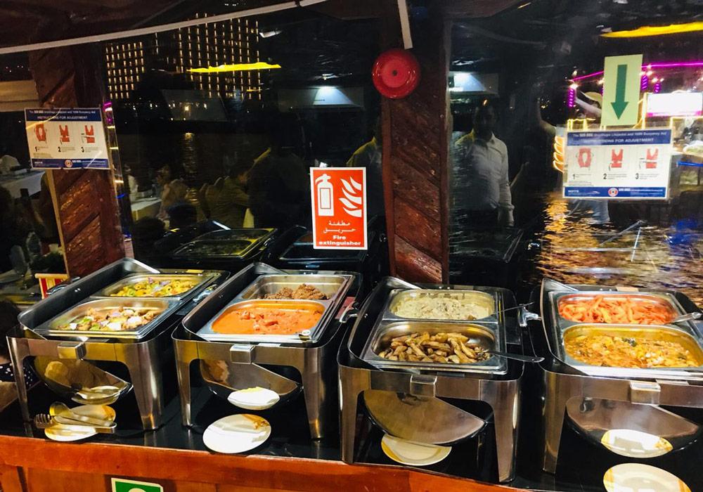 Multiply your enjoyment with an international five-star buffet